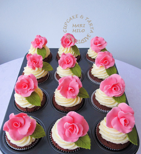 Cupcakes - bröllop