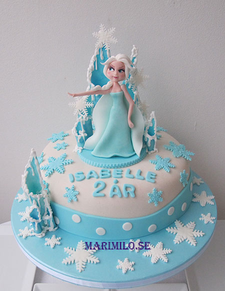 Frost tårta Elsa
