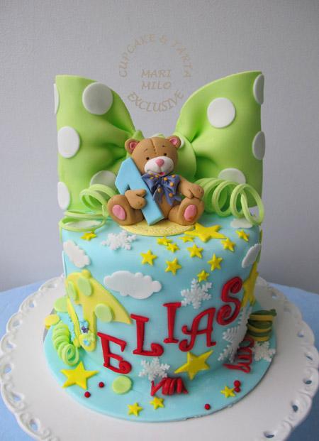 1 års kalas tårta