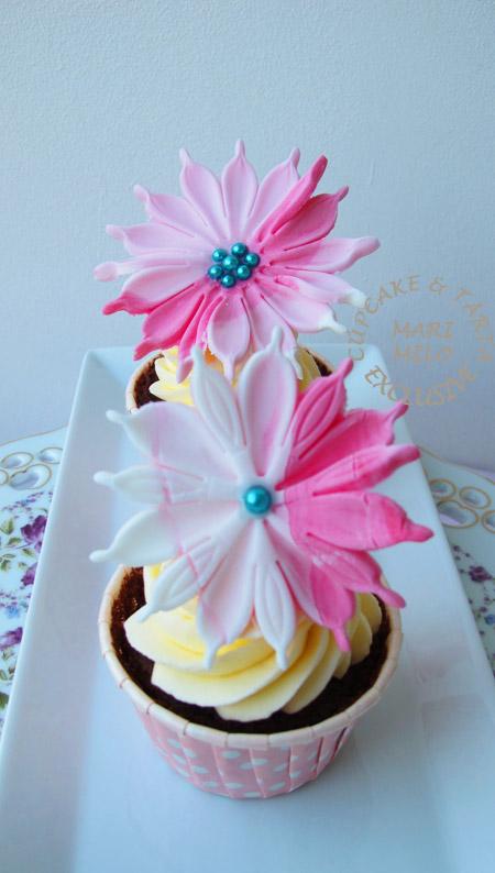 cupcakes romantisk rosa