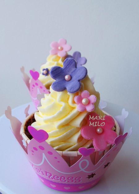 cupcakes till prinsessa