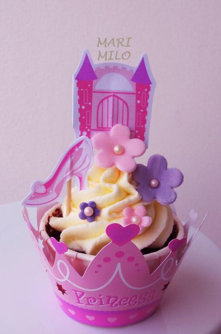 Prinsesskalas Cupcakes
