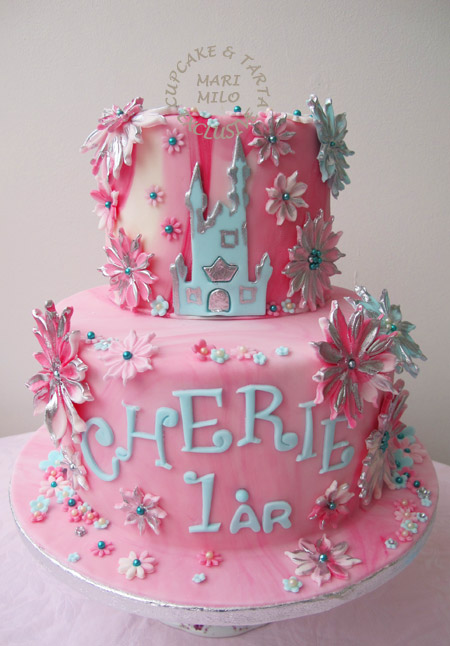 Prinsesslott tårta