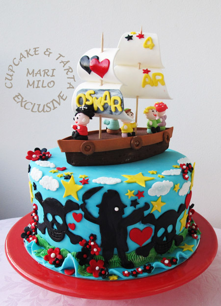 4 års kalastårta, pirattårta