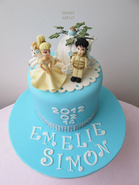 Askungen och Prinsen tårta