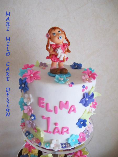 Tårta och cupcakes dekorationer