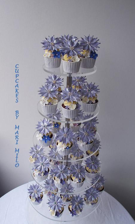 Cupcakes till bröllop eller dop