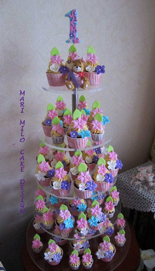 Födelsedagscupcakes