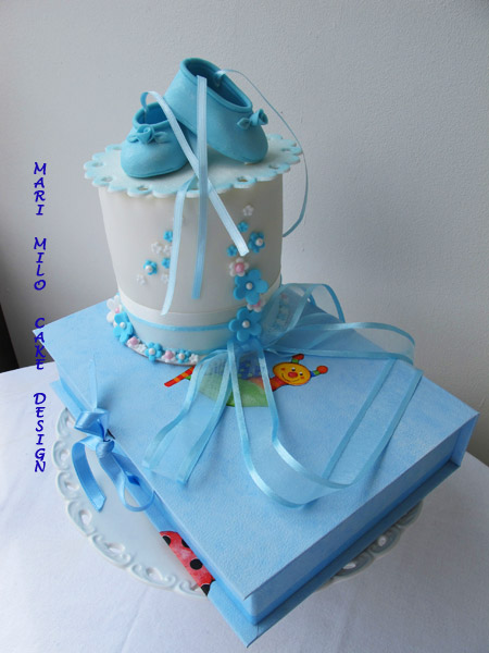 Tårta och godis ask