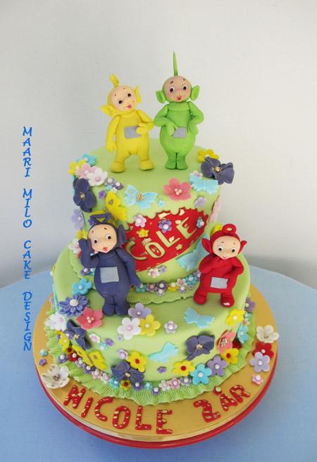 Teletubbies tårta