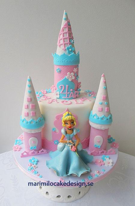 Prinsesstårta, Askungen tårta
