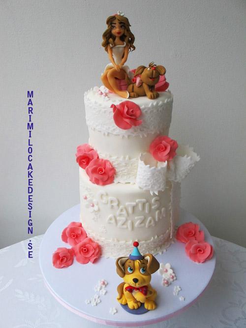 Födelsedagstårta vuxna 18år