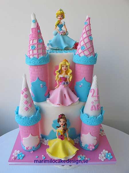Prinsesskalas-tårta för Prinsessor