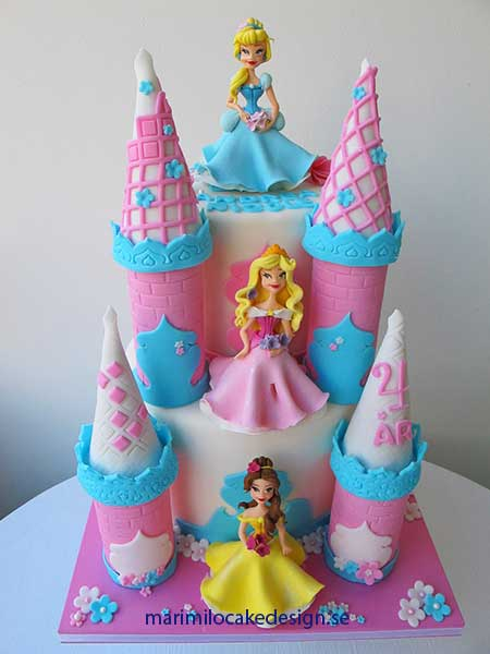 Prinsessor tårta