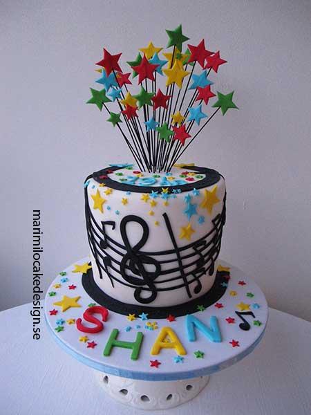 Musiktårta-tårta-musik tema