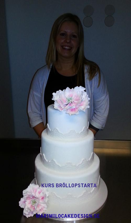 Bröllopstårta kurs