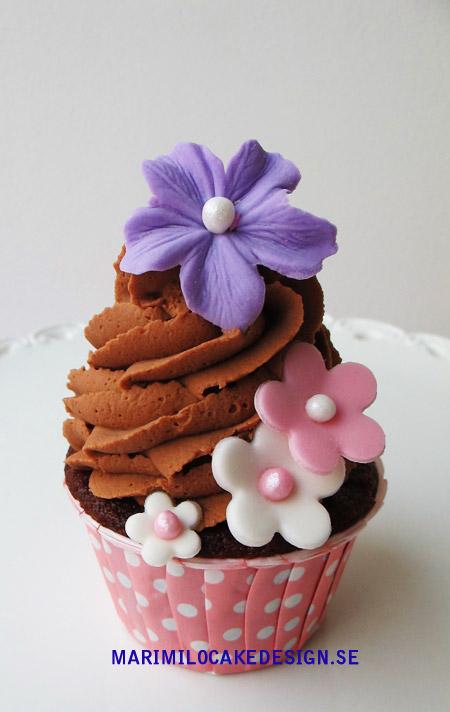 Cupcakes,choklad