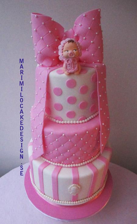 kurs-tårtdekorationer-våningstårta-doptårta