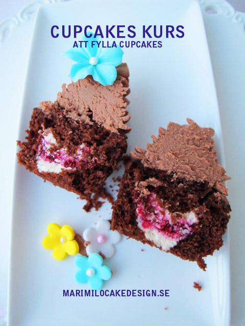 Kurs, att fylla cupcakes
