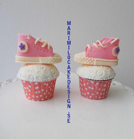 Cupcakes converse skor