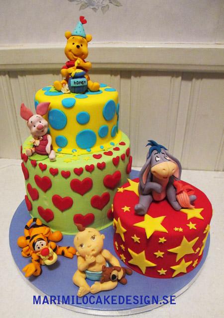 Barn kalas, tårta