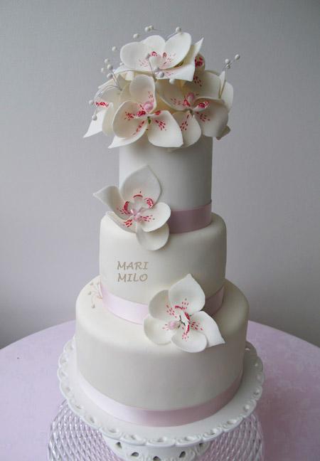 Bröllopstårta Vaxholm tårta