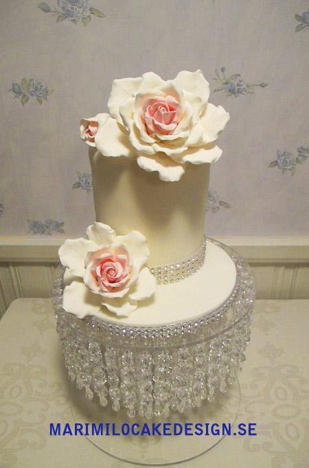 Liten bröllopstårta