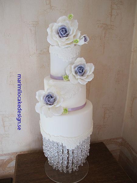 Bröllopstårta Tyresö