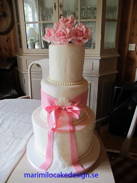 Bröllopstårta Ingarö