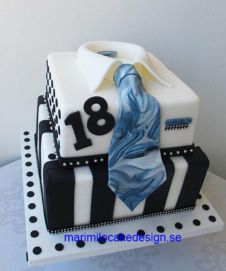 Tårta för killar 75 bitar