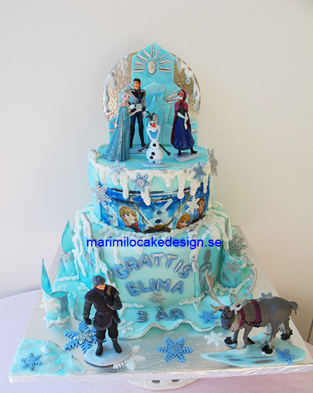 Frozen cake 25bitar