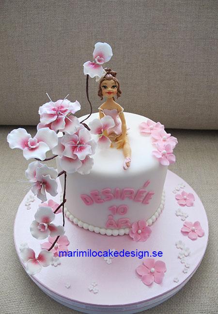 Ballerina tårta 12 bitar