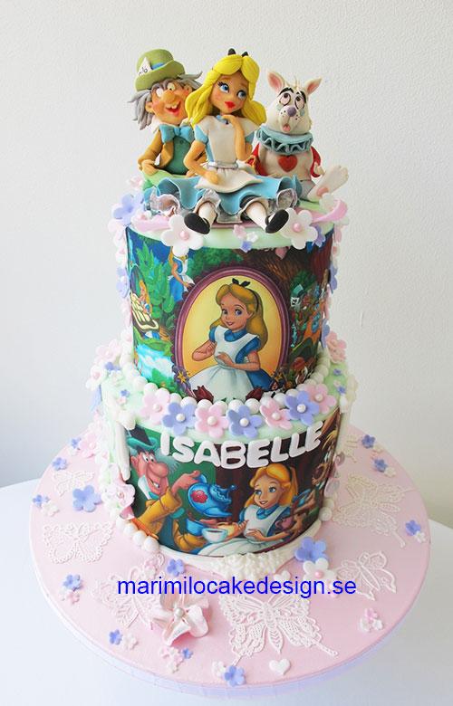 Alice i Underlandet Tårta
