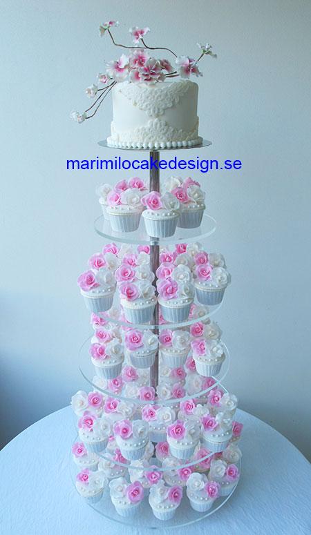Bröllops cupcakes Stockholm