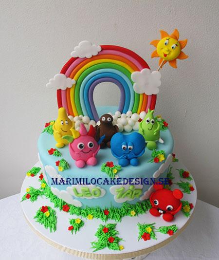 Babllarna tårta