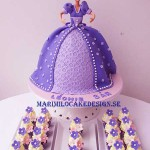 barbie-tarta-mini-cupcakes