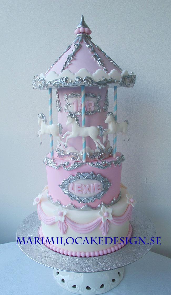 Dop och 1 års tårta