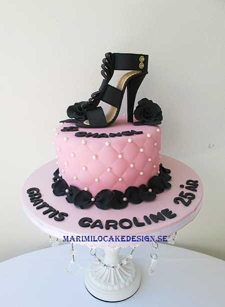 Chanel tårta