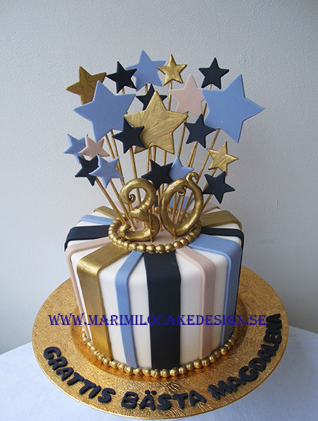 30 års tårta för killar