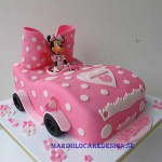minnie-bil-tarta