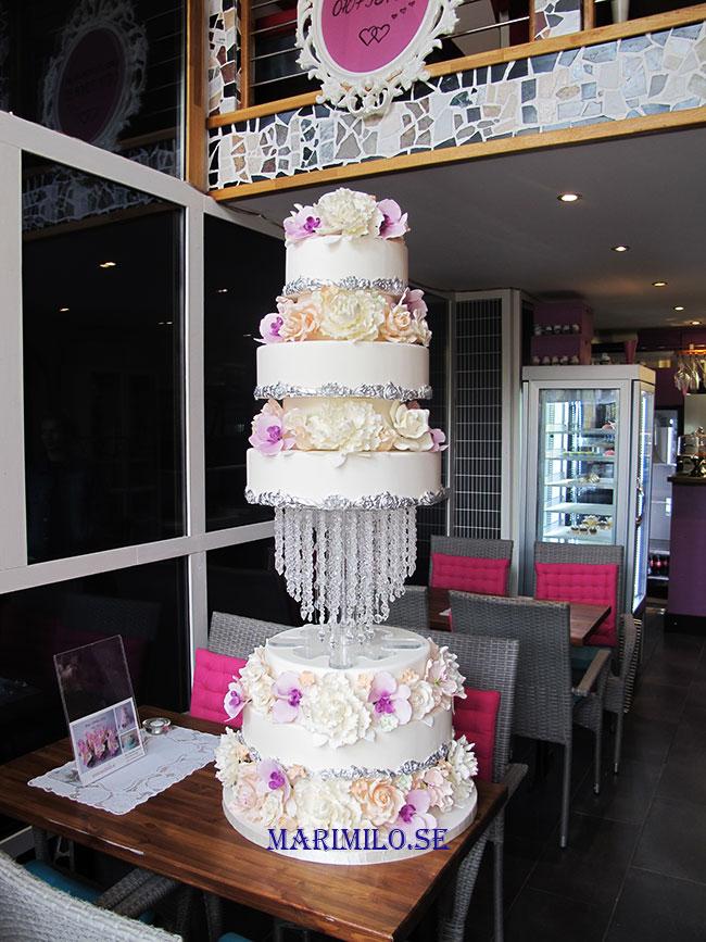 Bröllopstårta stor