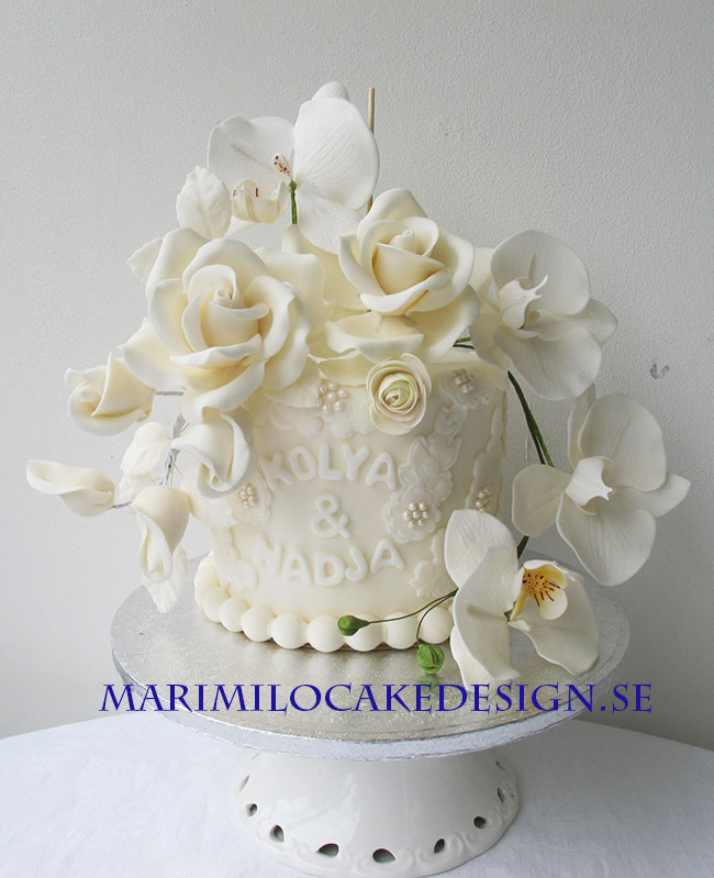 Tårta på toppen riktig tårta