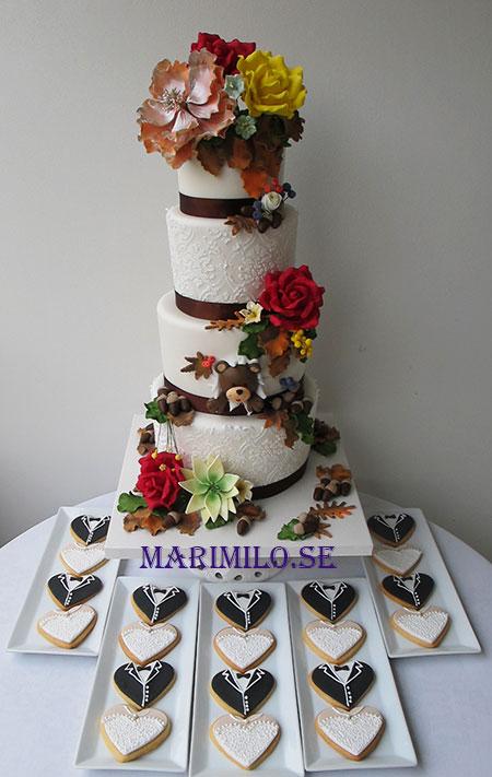 Bröllopskakor