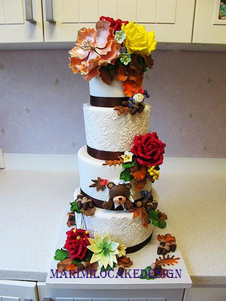 Bröllopstårta oktober