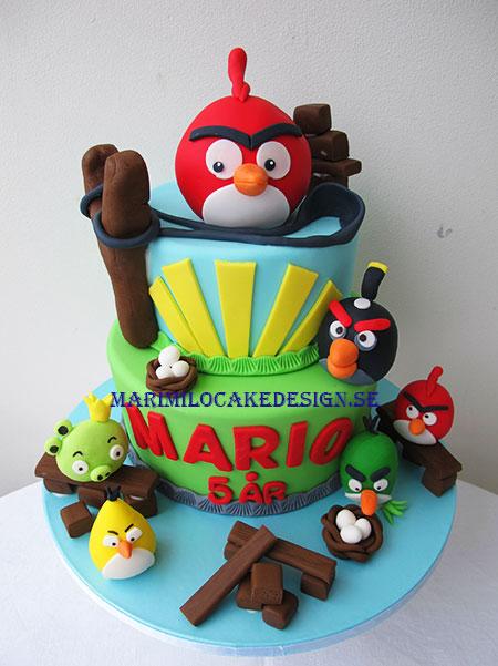 Angry Birds Tårta