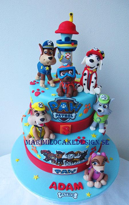 Paw Patrol Cake kalas
