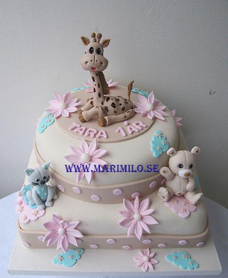 Sophie La Girafe Cake