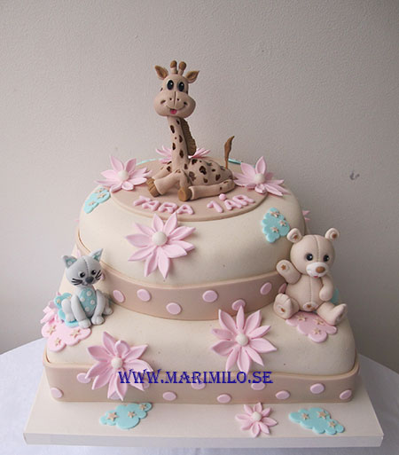 Sophie La Girafe Tårta