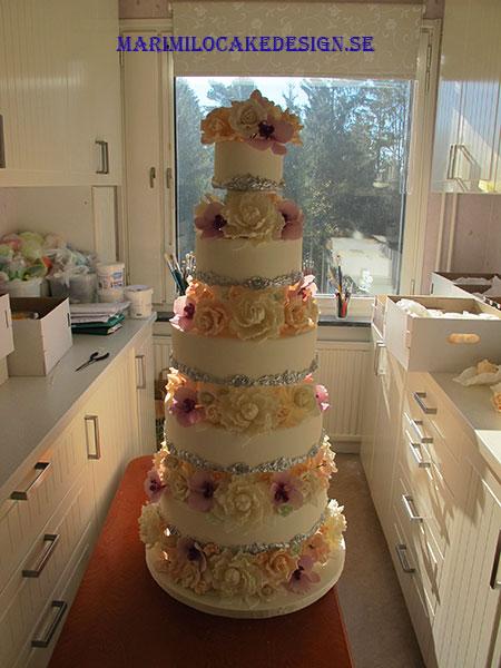Dekorera Exklusiva Bröllopstårtor