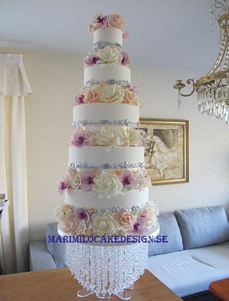 Exklusiva Bröllopstårtor